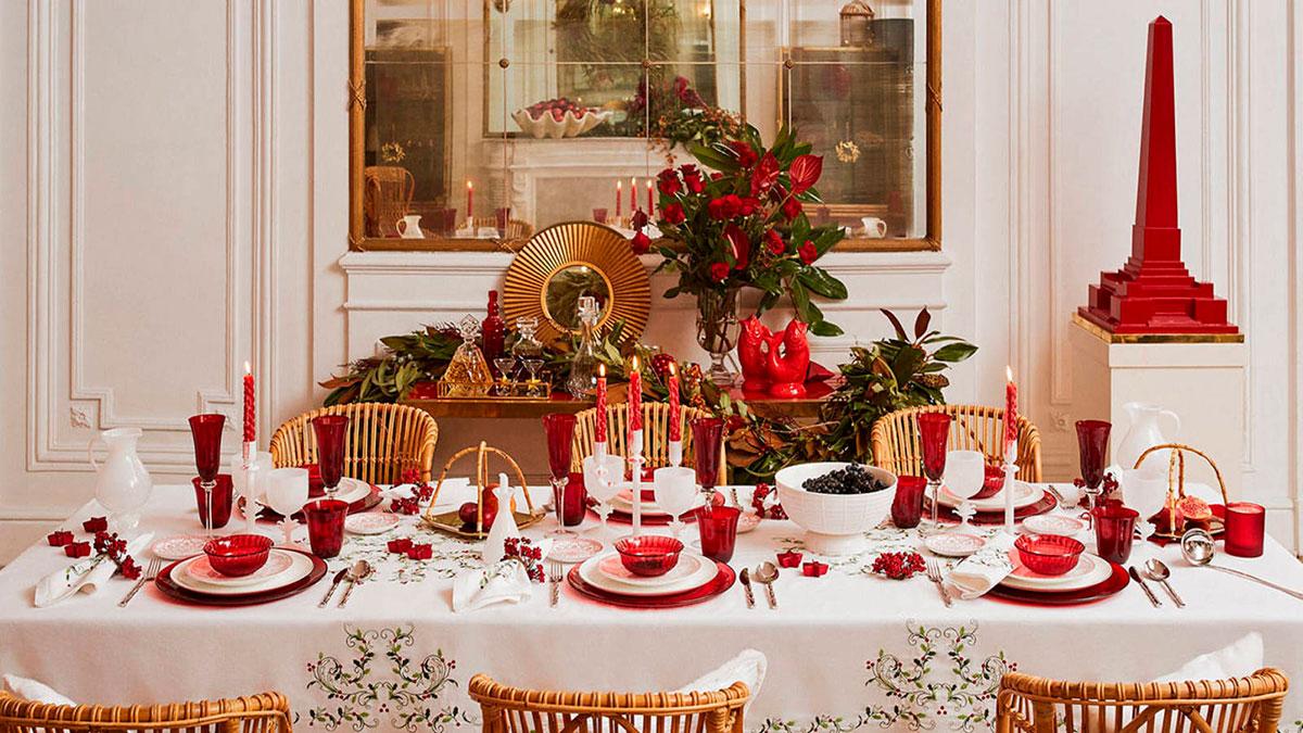decorar mesa noche vieja